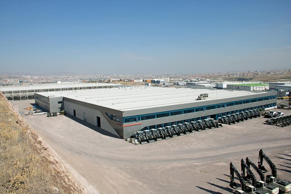 Завод HIDROMEK у Туреччині